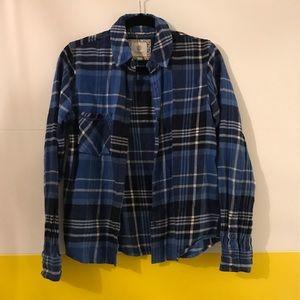 Blue Element Flannel